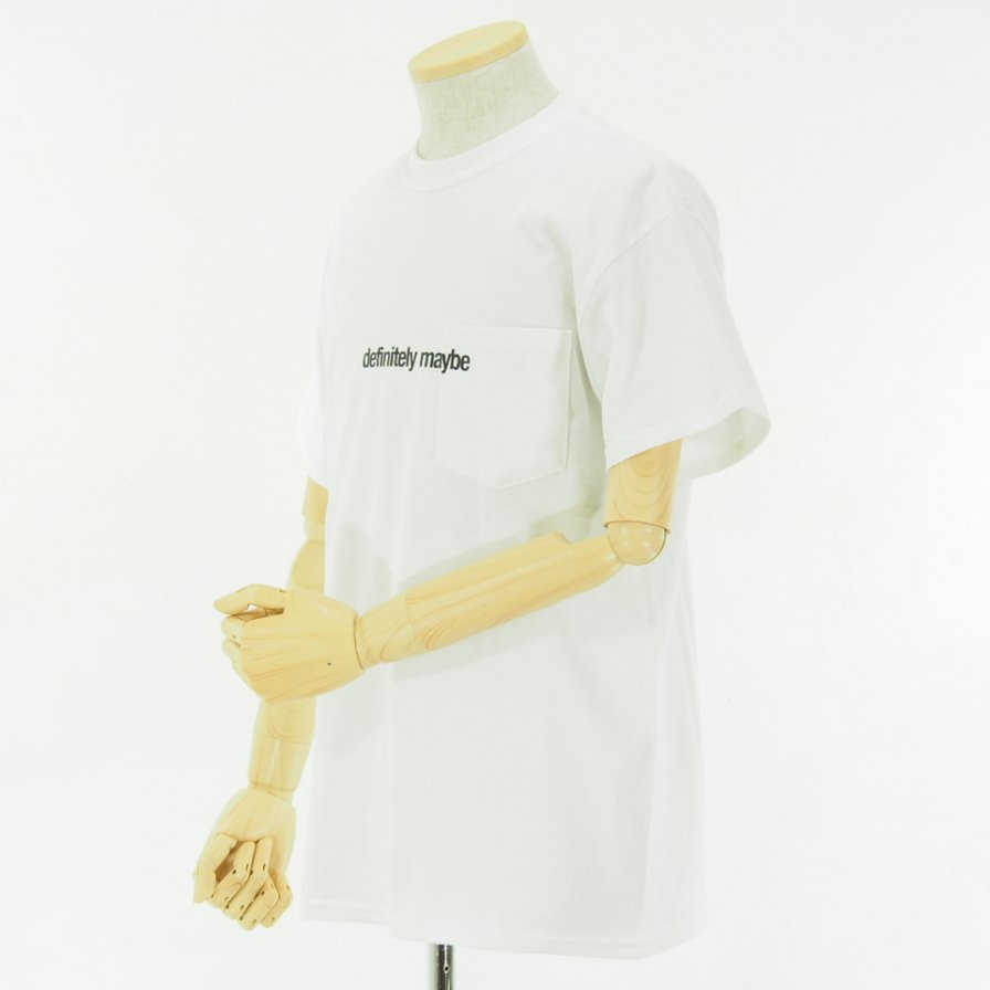 AiE - Printed S/S Pocket Tee - Flag - White