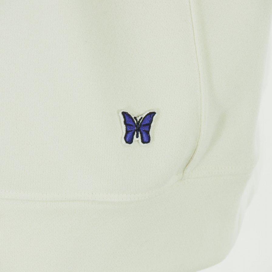 Needles - C/S Crew Sweat - Synthetic Jersey - White