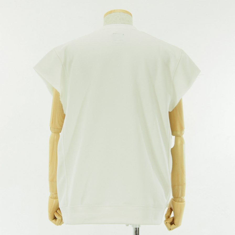 Needles - C/S Crew Sweat - Synthetic Jersey - White