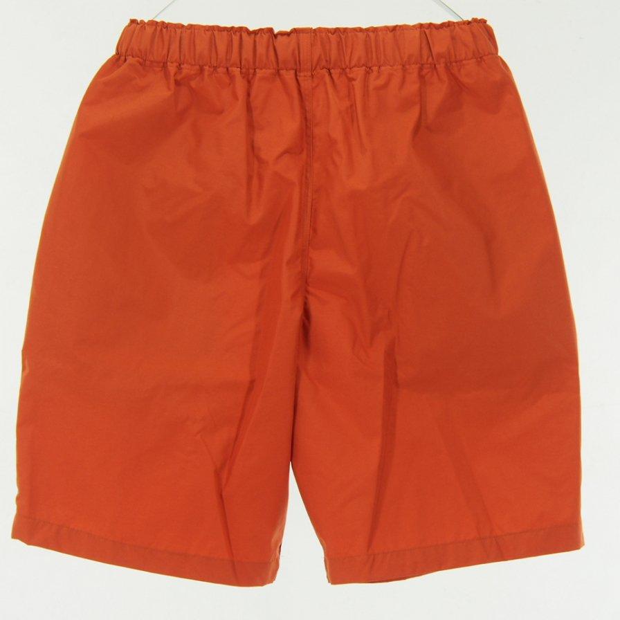 South2 West8 - Belted Center Seam Short - Nylon Tussare - Orange