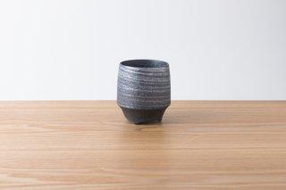 KIHARA - 香酒盃 - 晶銀かすり - Lサイズ