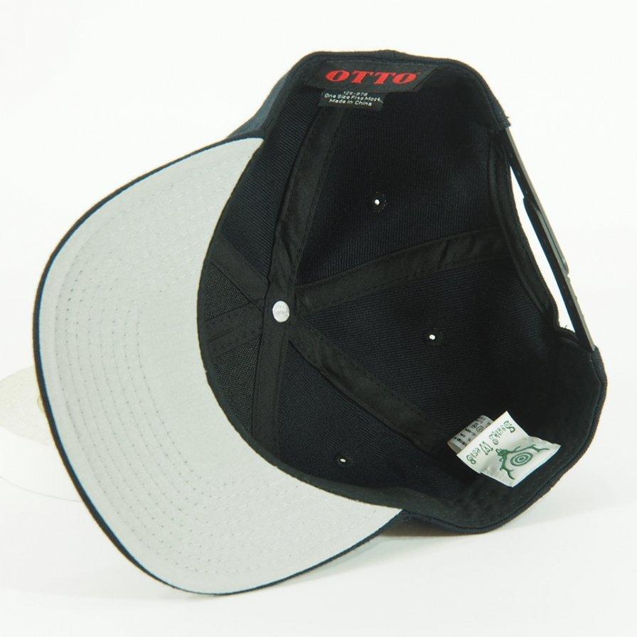 South2 West8 - Baseball Cap - Black Emblem / Black