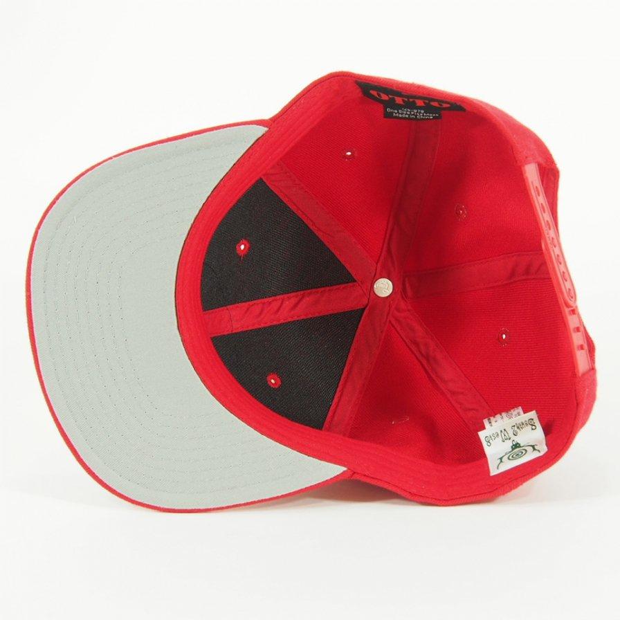 South2 West8 - Baseball Cap - Green Emblem / Red