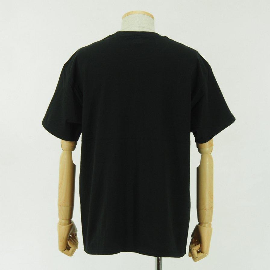 CORONA - Embroidery CORONA Tee - Black
