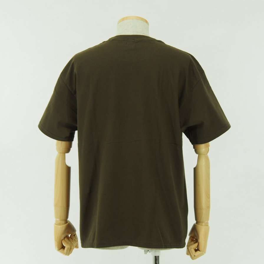 CORONA - Embroidery CORONA Tee - Brown
