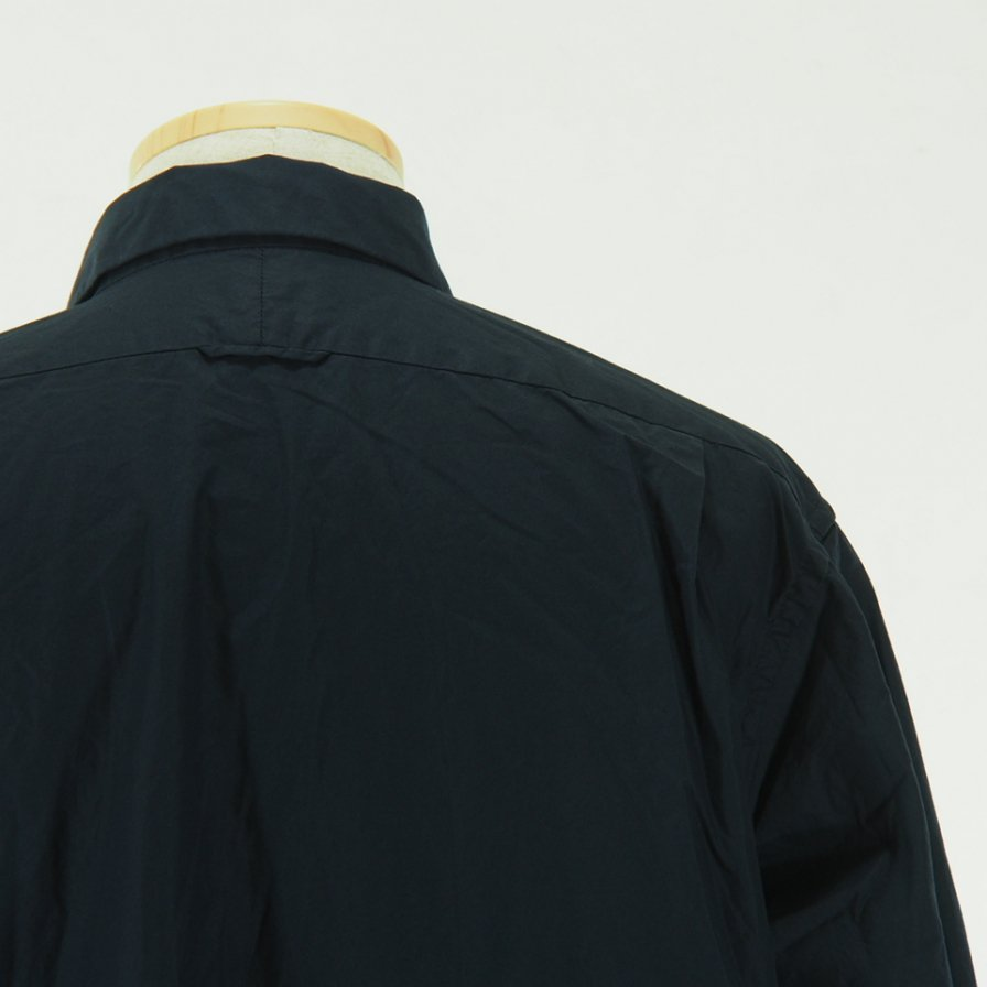 Engineered Garments - Short Collar Shirt - 100's 2Ply Broadcloth - Dk.Navy