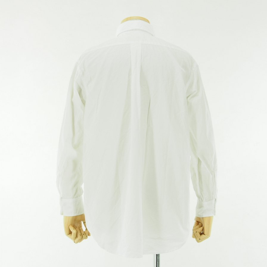 Engineered Garments - Rounded Collar Shirt - 100's 2Ply Broadcloth - White