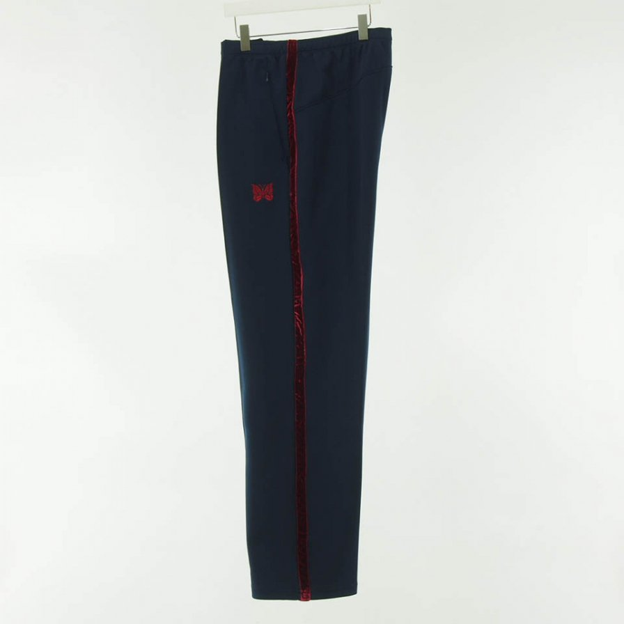 Needles - Side Line Center Seam Pant - Poly Smooth - Navy