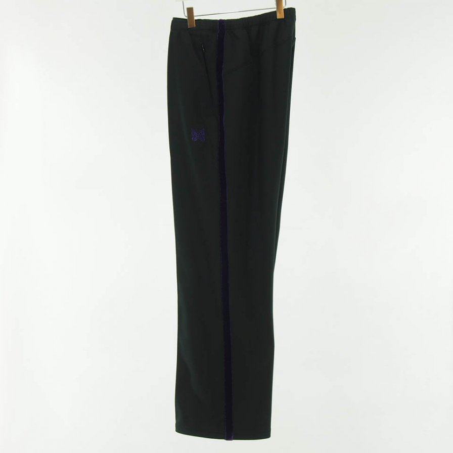 Needles - Side Line Center Seam Pant - Poly Smooth - Black