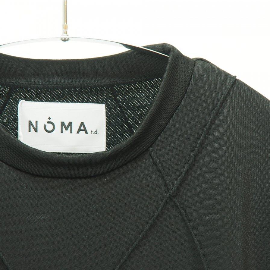 NOMA t.d. - Diamond Stitch Sweat - Black