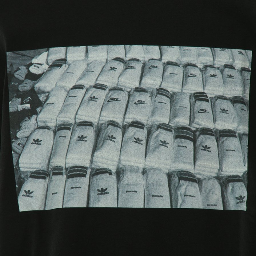 FilPhies - Selling socks on 125th Street Harlem 10027 in 1991 - Black