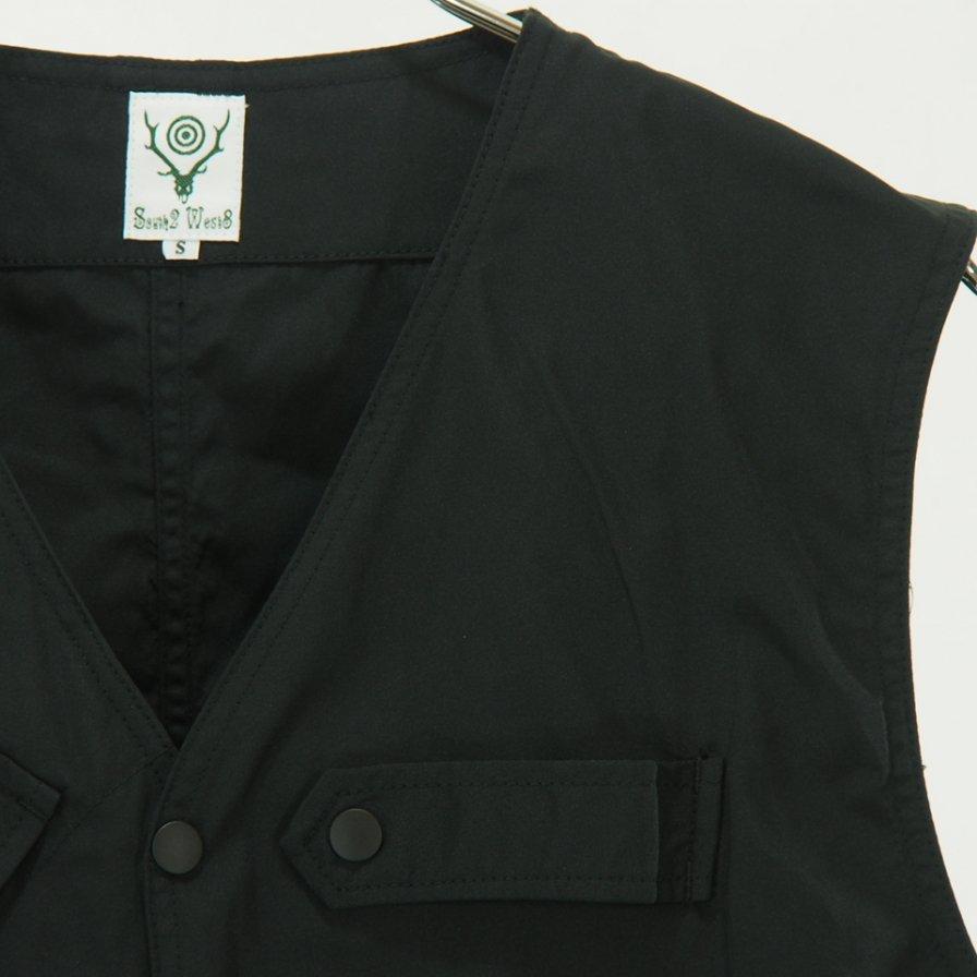 South2 West8 - Tenkara Vest - Poly Gabardine - Black