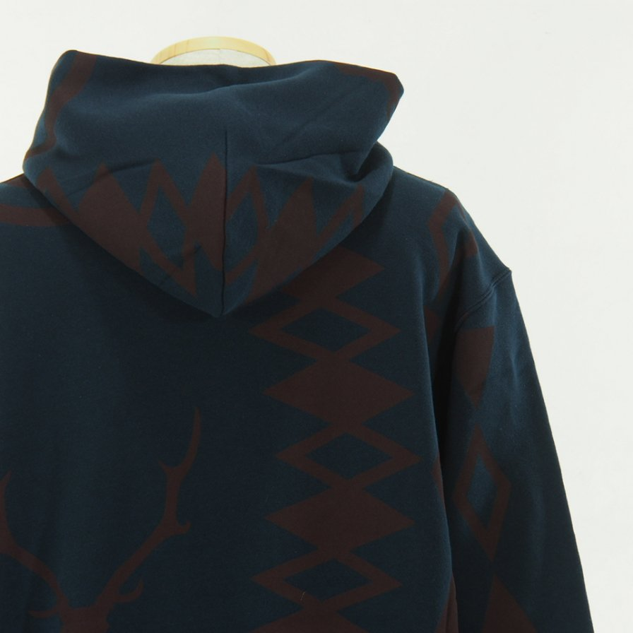 South2 West8 - Sweat Hoody - Cotton Jersey / S2W8 Native - Navy