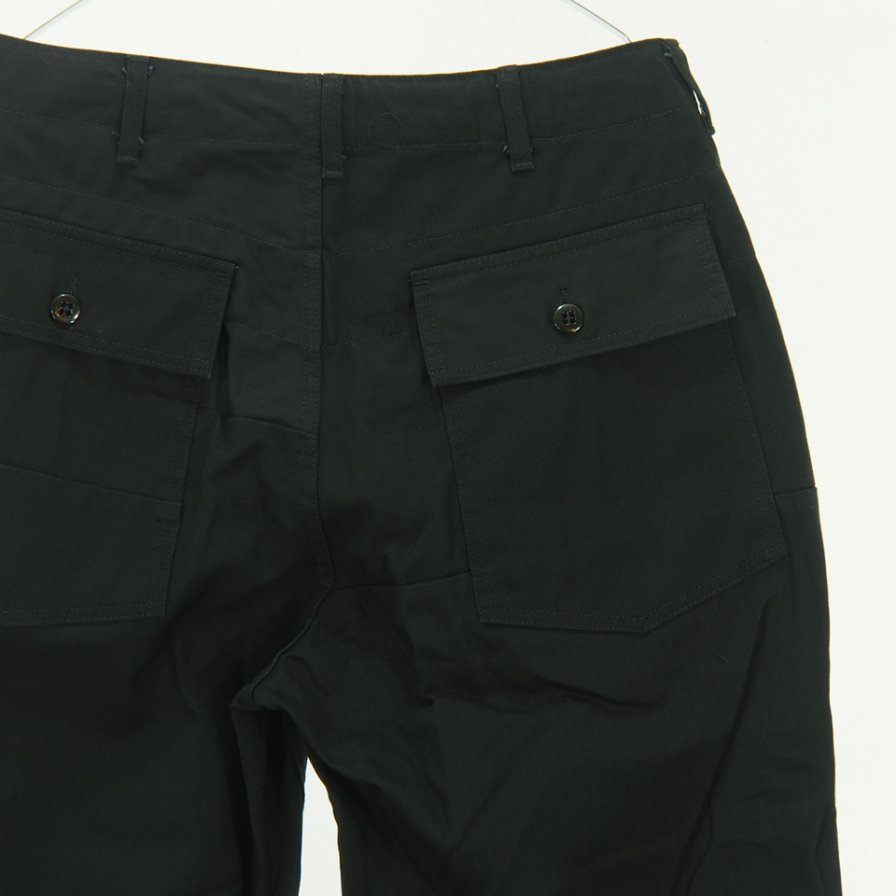 Engineered Garments - Fatigue Pants - Cotton Heavy Twill - Black