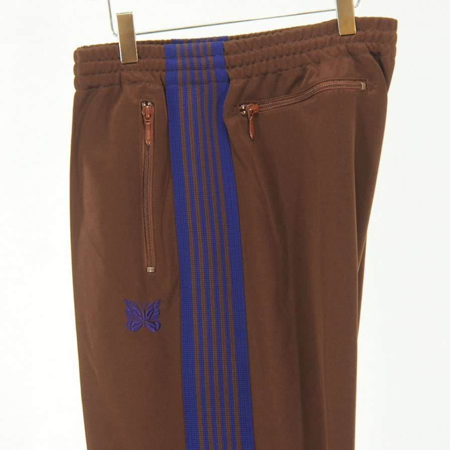 Needles - Track Pant - Poly Smooth - Brown
