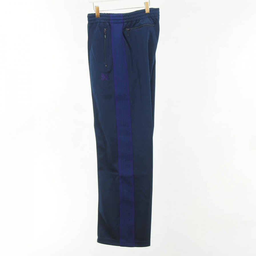 Needles - Track Pant - Poly Smooth - Navy