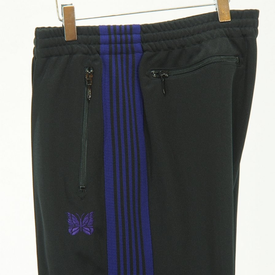Needles - Track Pant - Poly Smooth - Black