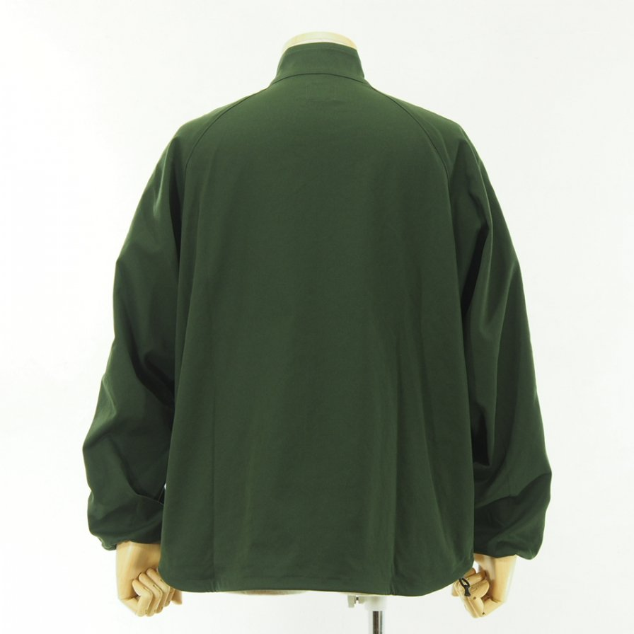 Needles - Run up Jacket - Poly Dry Twill - Green