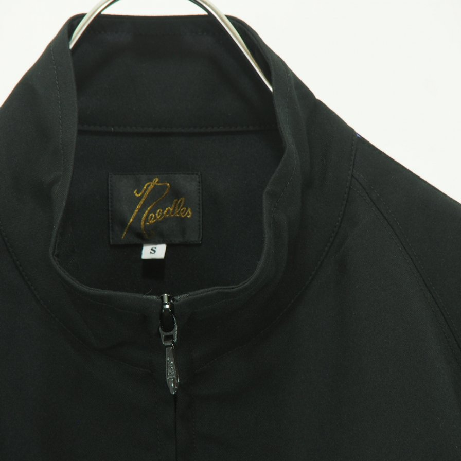 Needles - Run up Jacket - Poly Dry Twill - Black