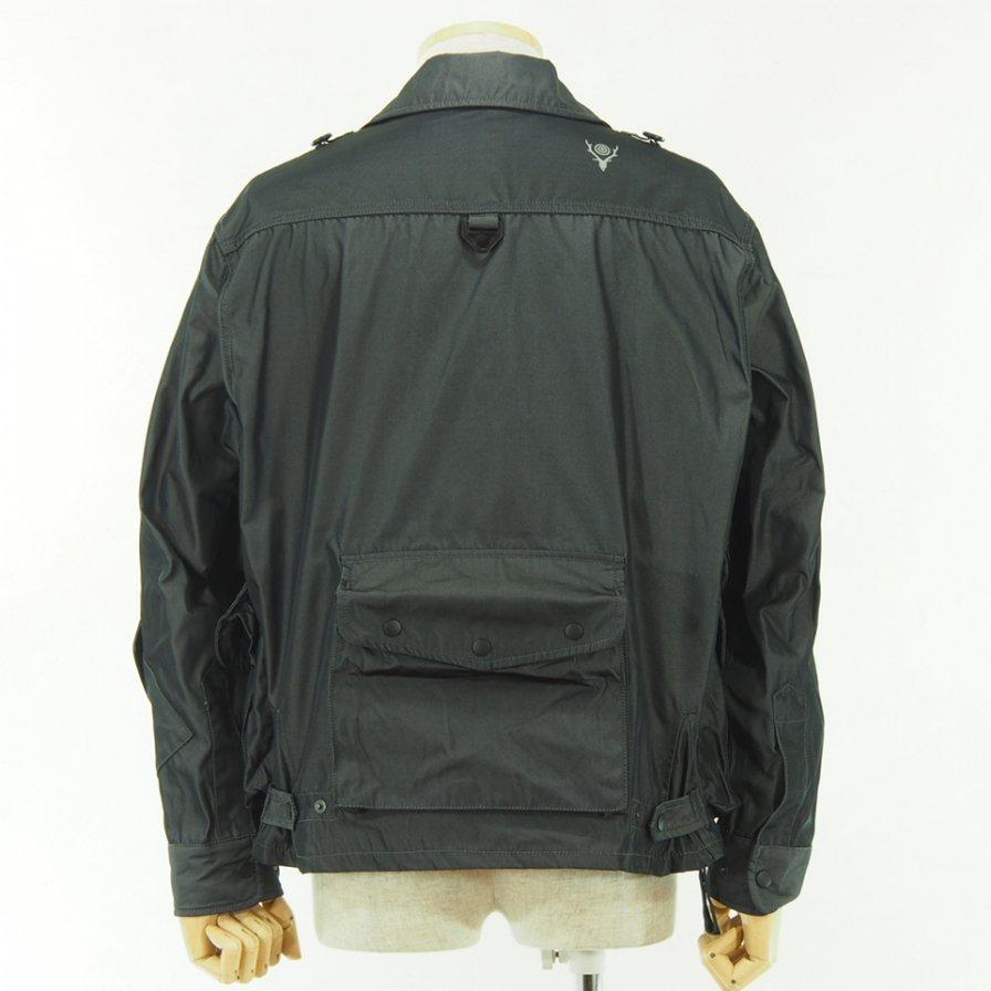 South2 West8 - Tenkara Shirt - Poly Gabardine - Charcoal