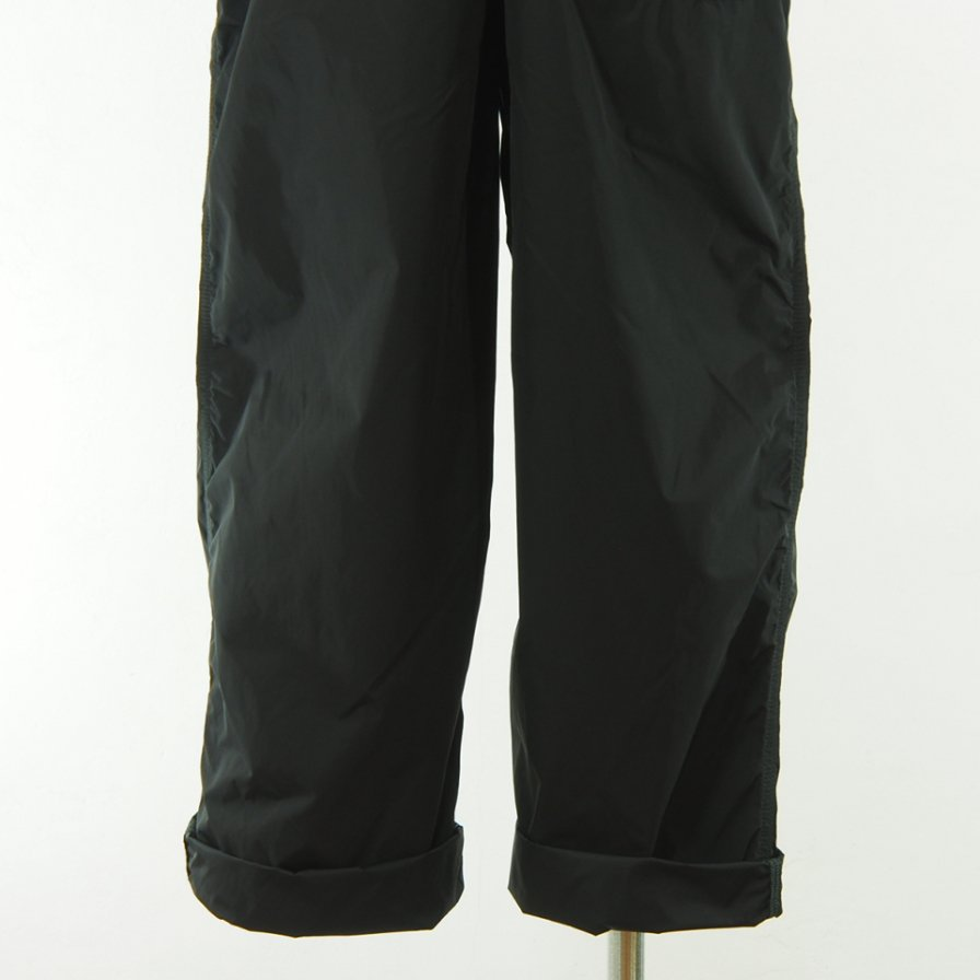 CORONA - Navy Overpant - High Density Nylon Taffeta - Black
