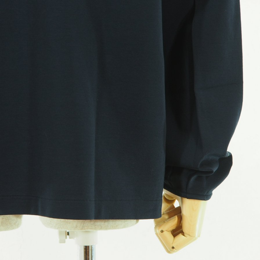STILL BY HAND - Pocket L/S Tee - Navy