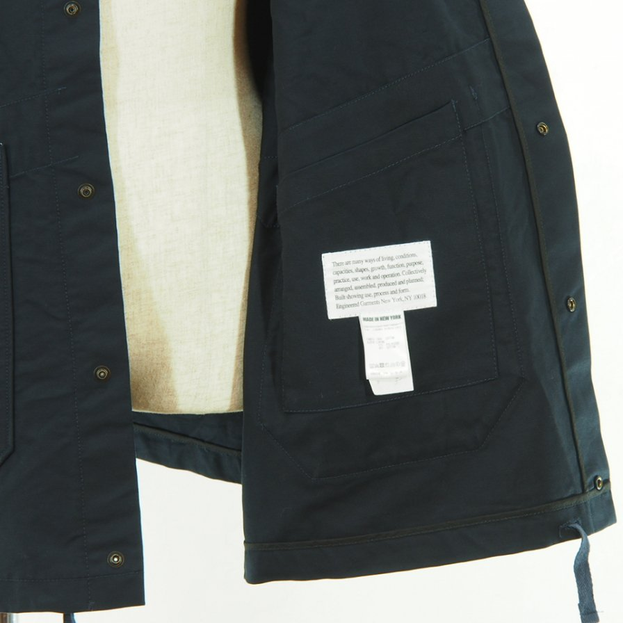 Engineered Garments - Madison Parka - Double Cloth - Navy