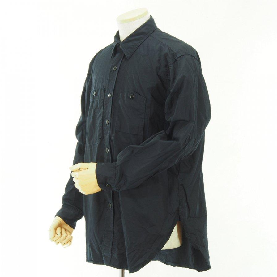 Engineered Garments - Work Shirt - Fineline Twill - Dk.Navy