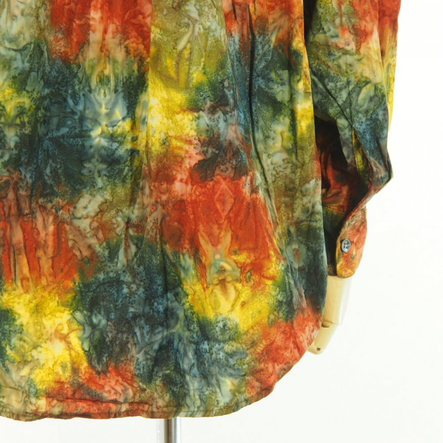 AiE - Painter Shirt - Abstract Print - Multi Batik
