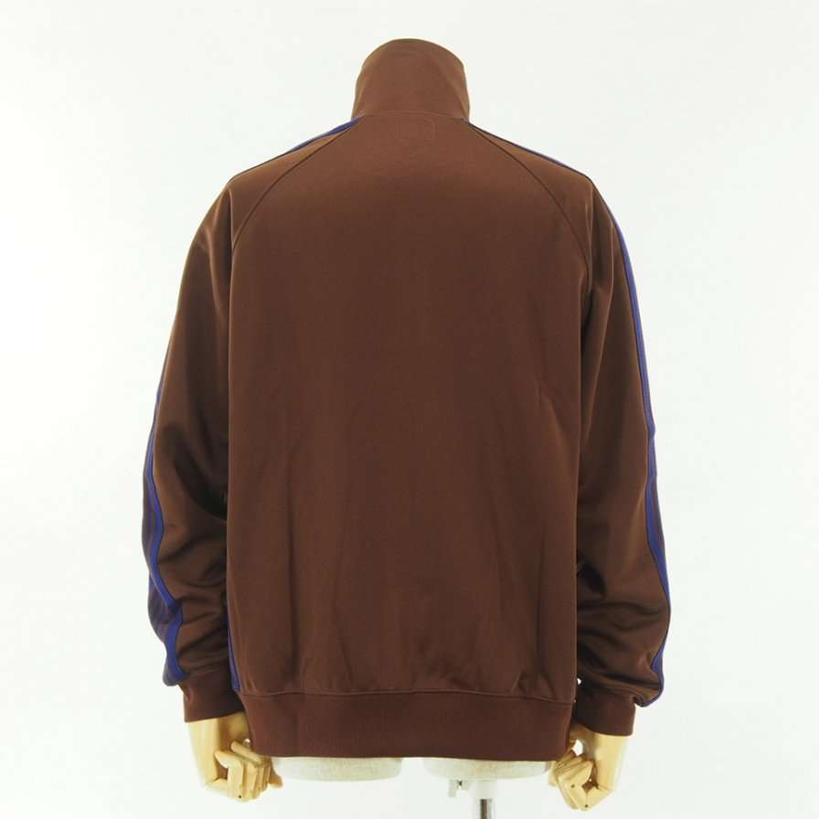 Needles - Track Jacket - Poly Smooth - Brown