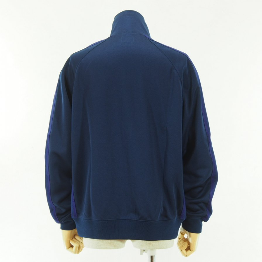 Needles - Track Jacket - Poly Smooth - Navy