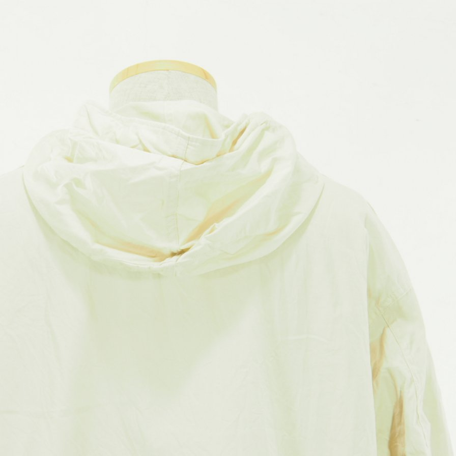 Engineered Garments - Cagoule Shirt -  Fineline Twill - Ivory