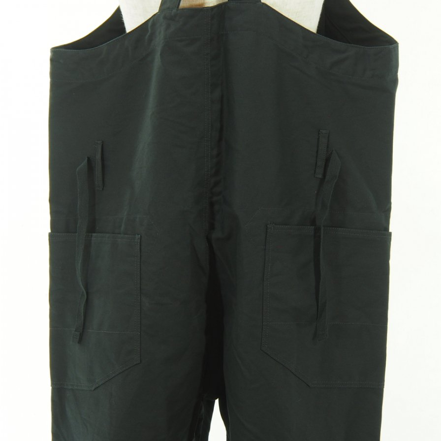 Engineered Garments - Overalls - Double Cloth - Black