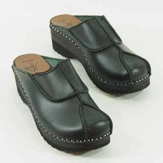 Needles×Troentorp - Swedish Clog - Smooth / Gasset  - Black Stitch