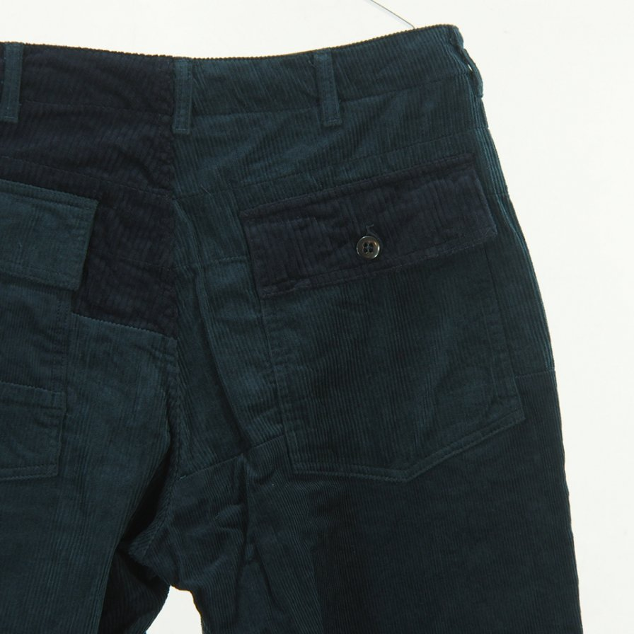 Engineered Garments - Fatigue Pants - 8W Corduroy - Navy