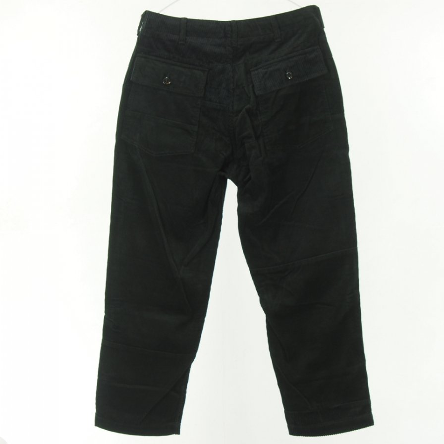 Engineered Garments - Fatigue Pants - 8W Corduroy - Black