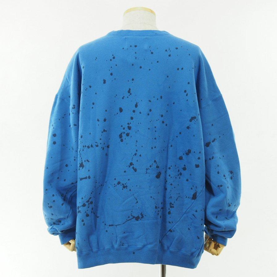 NOMA t.d. - Tie Dye Twisted Sweat - Splash / Navy×Blue
