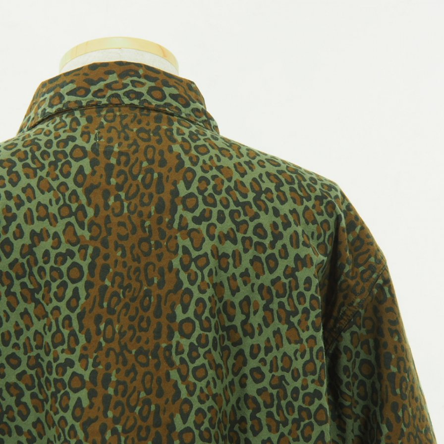 South2 West8 - Hunting Shirt - Printed Flannel - Camouflage - Leopard