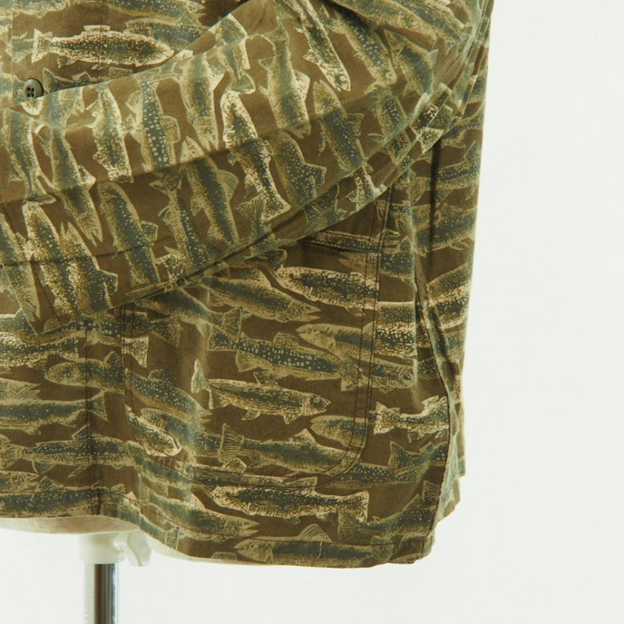 South2 West8 - Hunting Shirt - Printed Flannel - Camouflage - Trout
