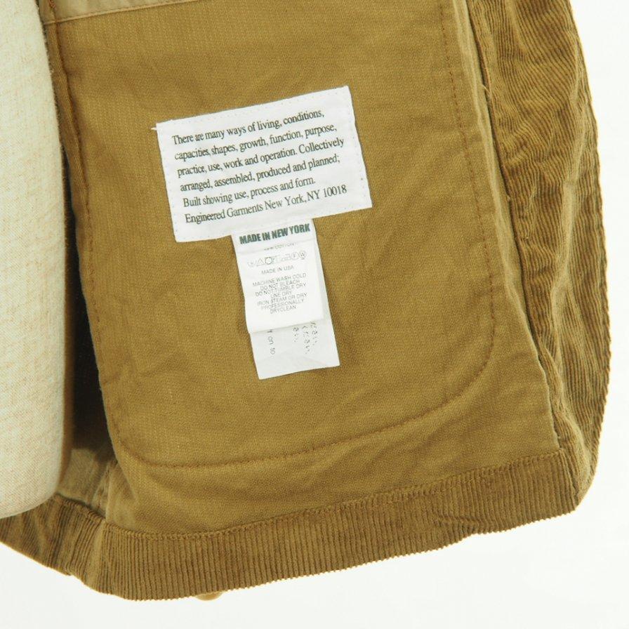 Engineered Garments - Loiter Jacket - 11W Corduroy - Chestnut