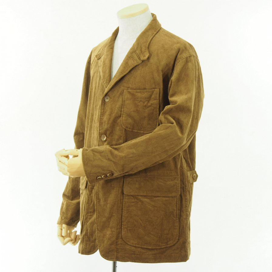 Engineered Garments - Loiter Jacket - 11W Corduroy - Chestnut