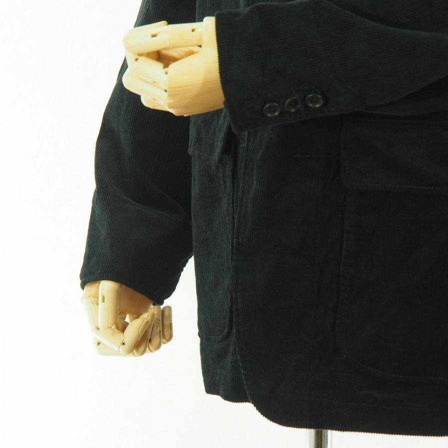 Engineered Garments - Loiter Jacket - 11W Corduroy - Black
