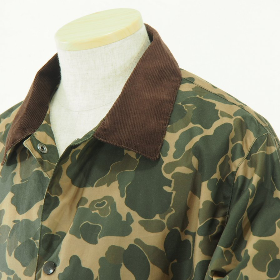 South2 West8 - Waxed Cotton Coach Jacket - Camouflage