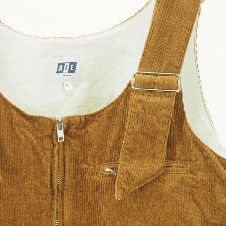 AiE - DSD Vest - 8W Corduroy - Chestnut