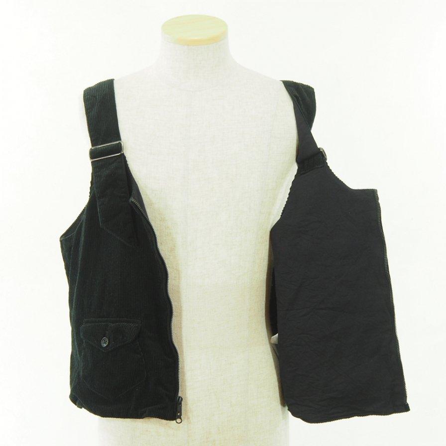 AiE - DSD Vest - 8W Corduroy - Black