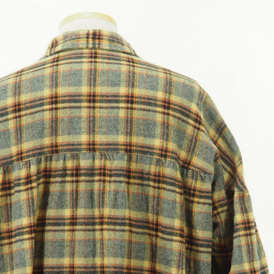 AiE - String Smock - Plaid Flannel - Grey/Khaki