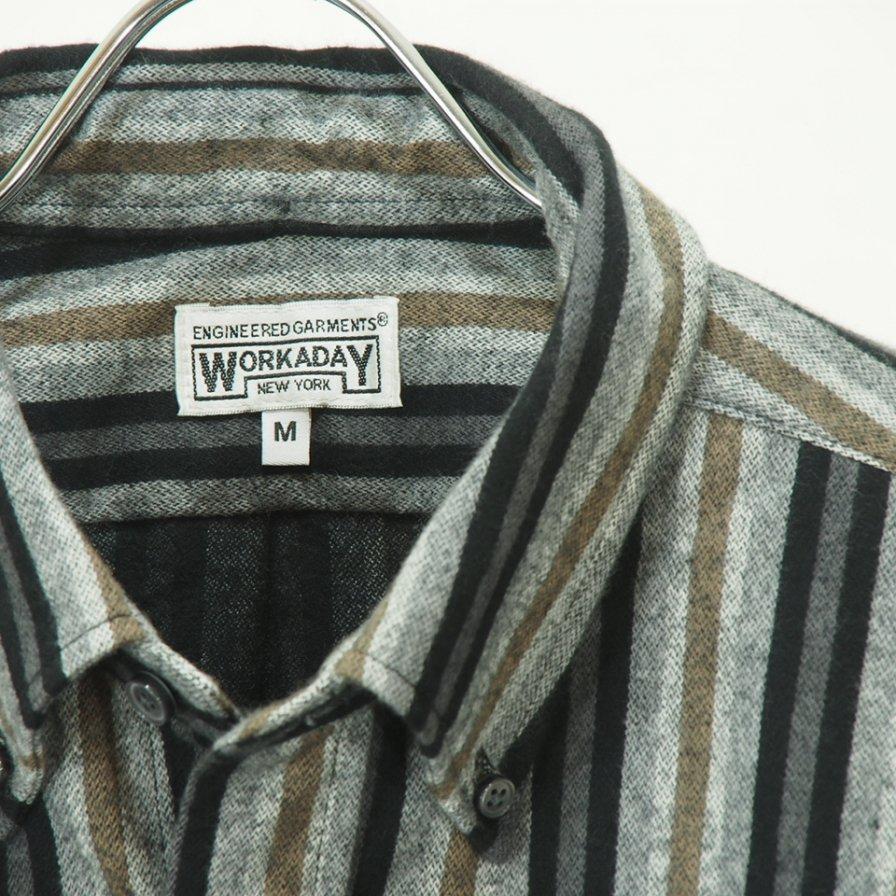 EG WORKADAY - BD Shirt - Regent ST. - Black/Grey