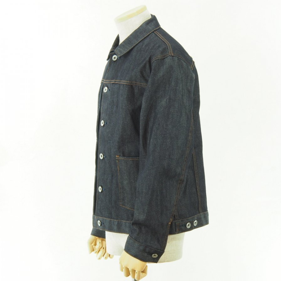 STILL BY HAND - Denim Jacket - Navy