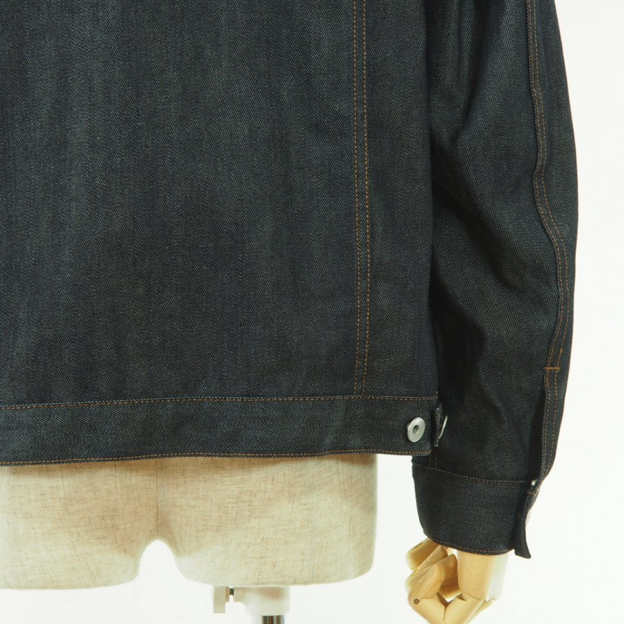 STILL BY HAND - Denim Jacket - Navy