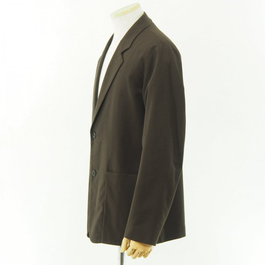 STILL BY HAND - Wool Jacket - Brown